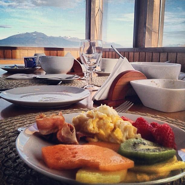 breakfast puerto natales