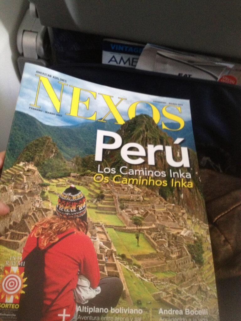 airline magazine