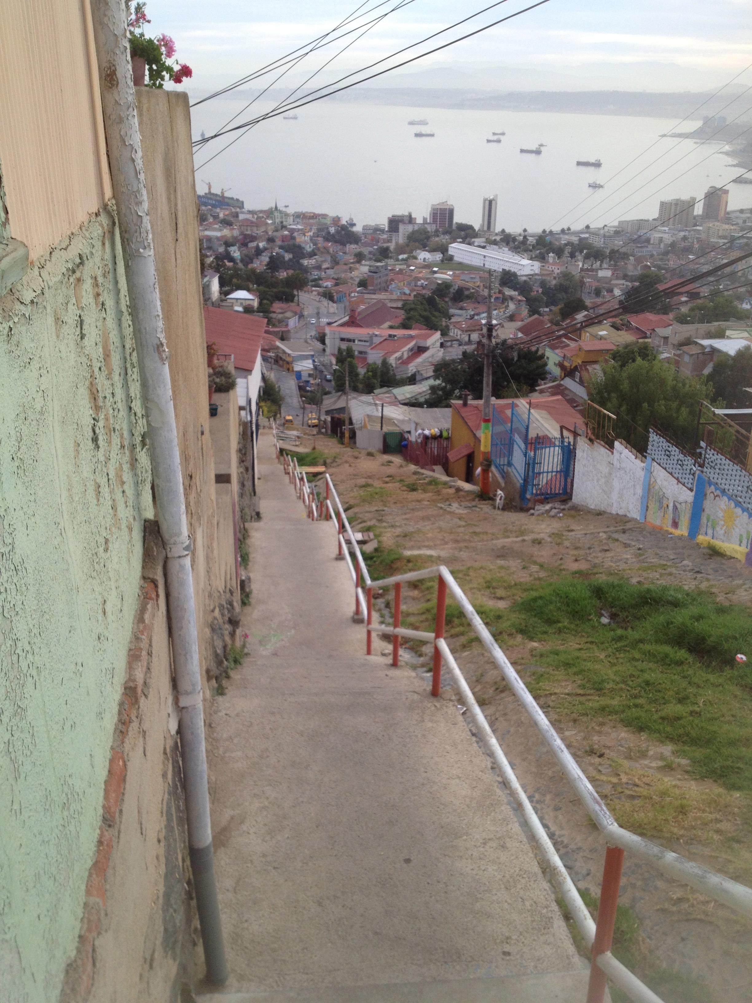 steep valparaiso