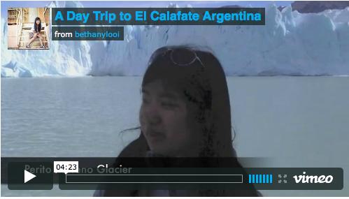 A Day Trip to El Calafate Argentina