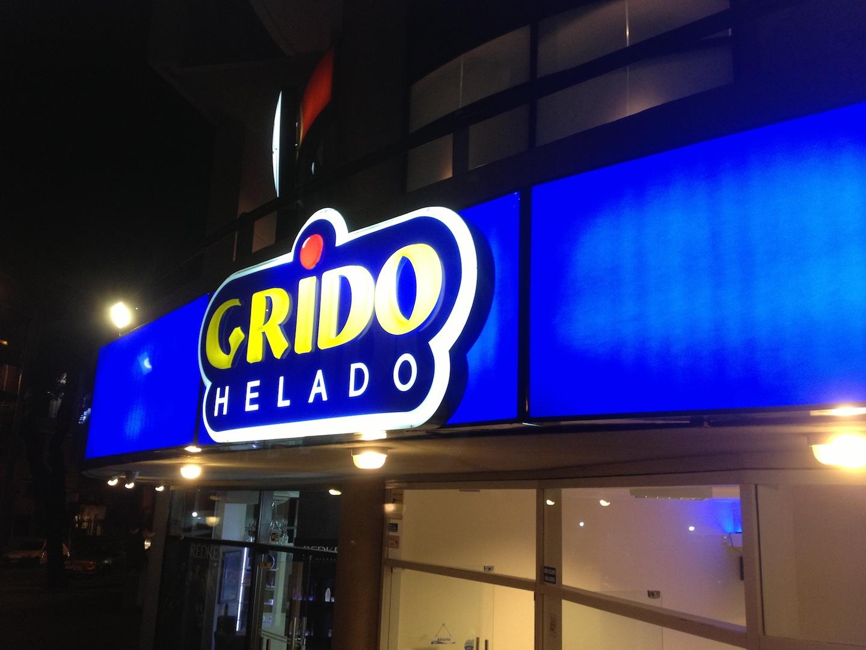Life in Uruguay: Grido Helado
