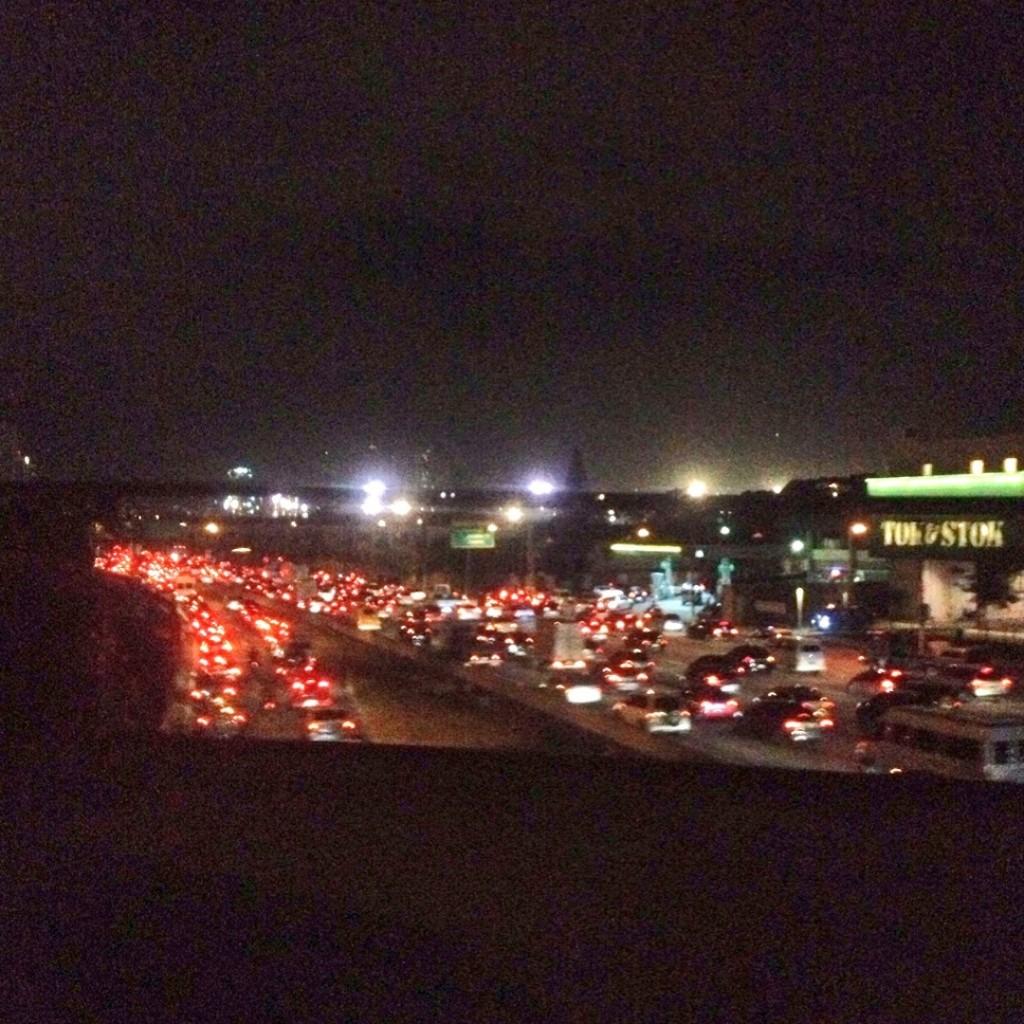 sao paulo protest traffic