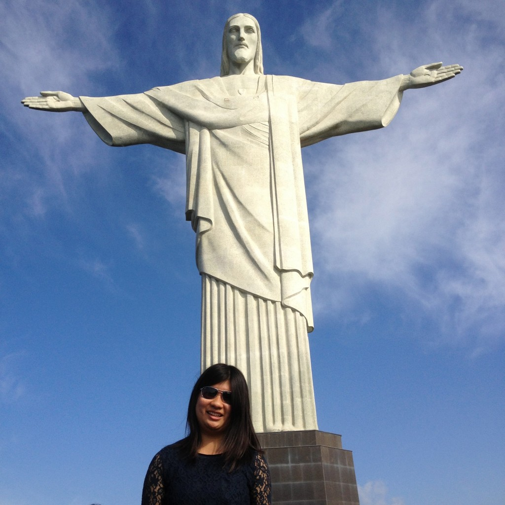 me at christ the redeemer