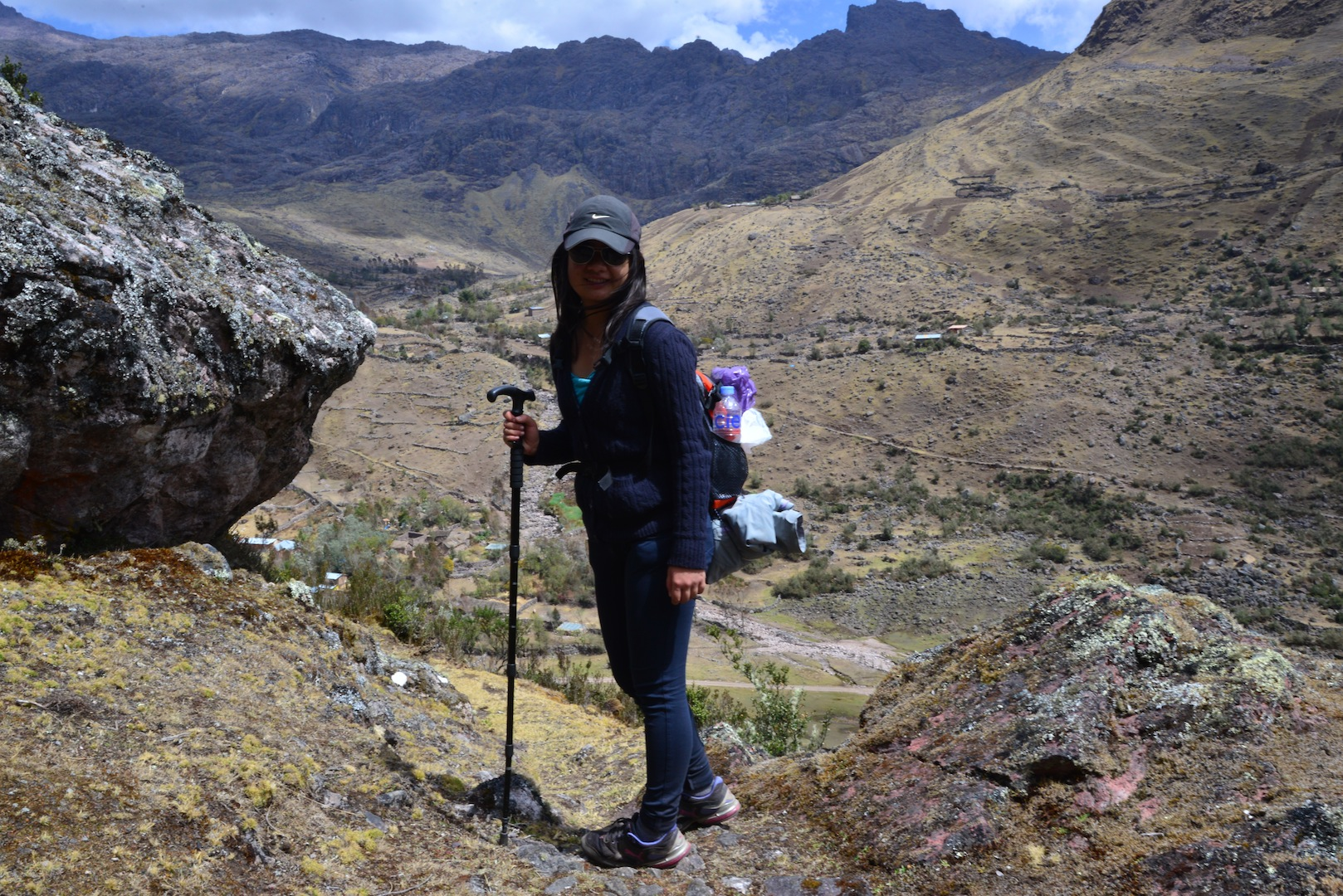 Trekking in Peru in Instagram Photos