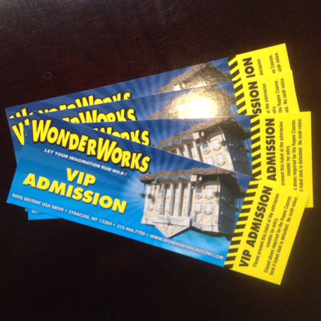 Visit Syracuse: WonderWorks at Destiny USA
