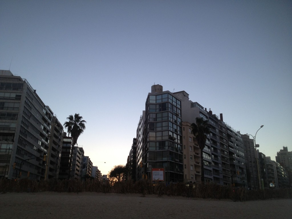 the rambla of montevideo