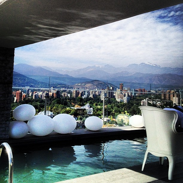 Rooftop Pool at W Santiago Chile