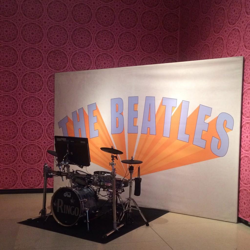 the beatles exhibit nyc