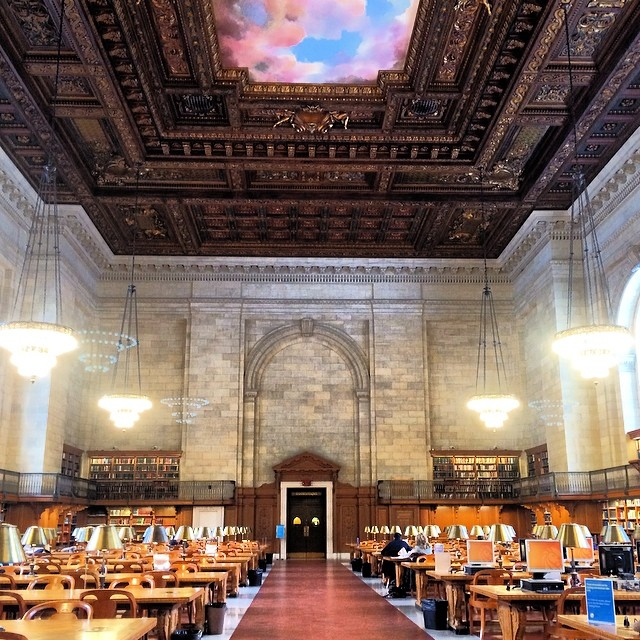 My Office at the New York Public Library