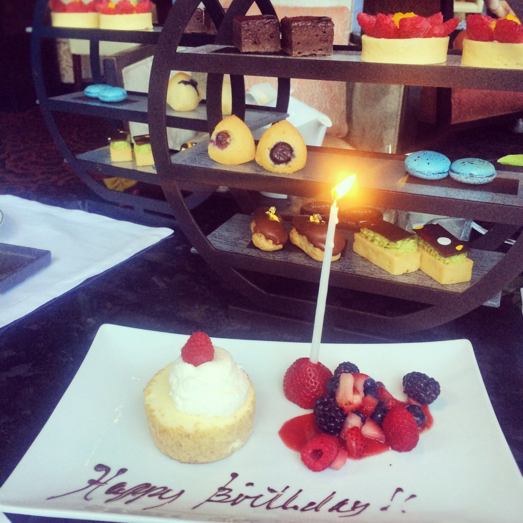 birthday at mandarin oriental new york