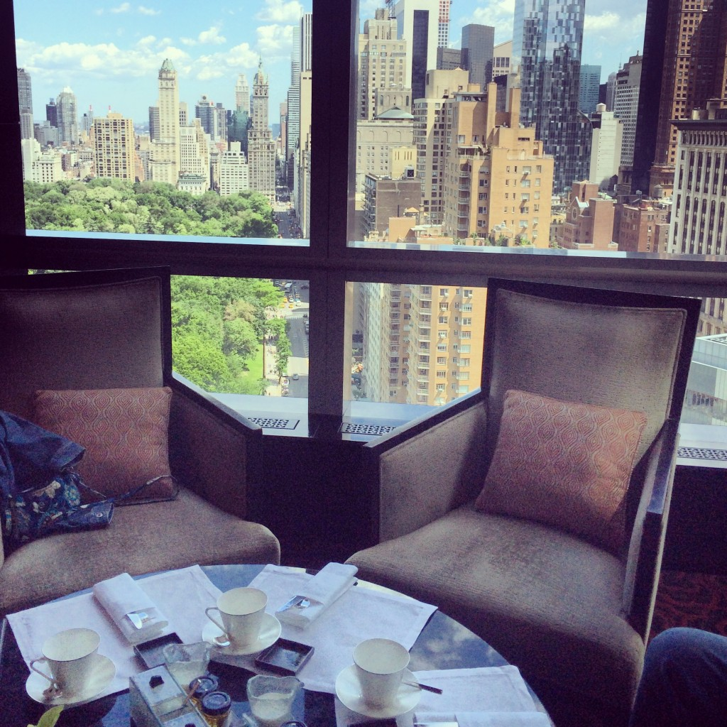lobby lounge mandarin oriental new york