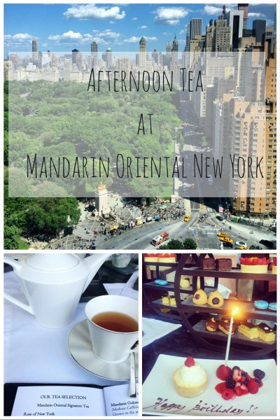 afternoon tea at mandarin oriental new york