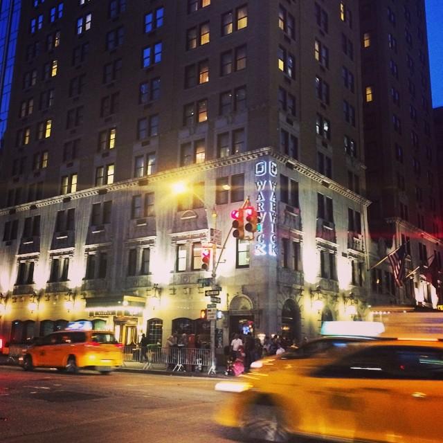 Photo of the Day: Warwick New York Hotel