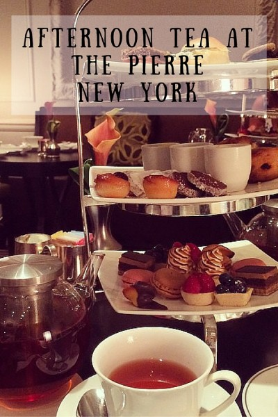 afternoon tea at the pierre new york