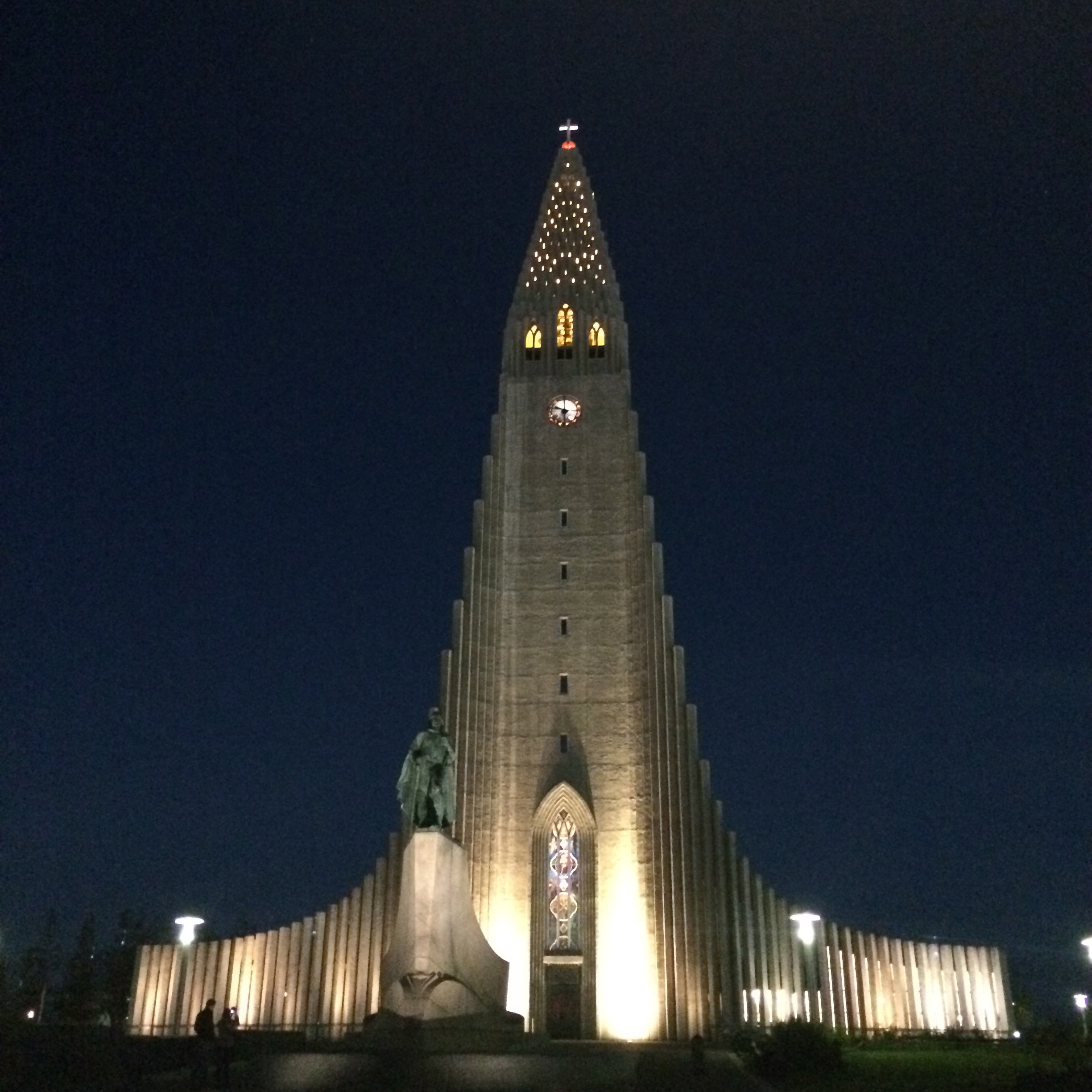 Video: View from Hallgrimskirkja Church in Reykjavik Iceland