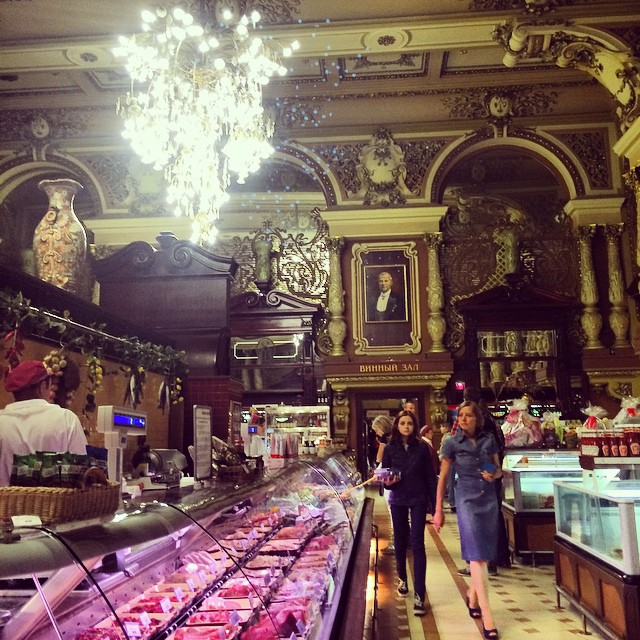 Photo of the Day: Grocery Shopping in Moscow