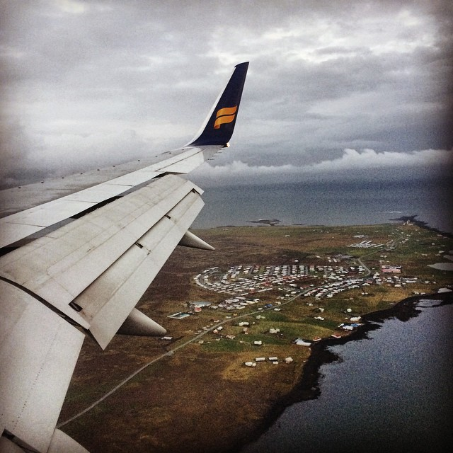 Iceland Day 1 in Instagram Pics