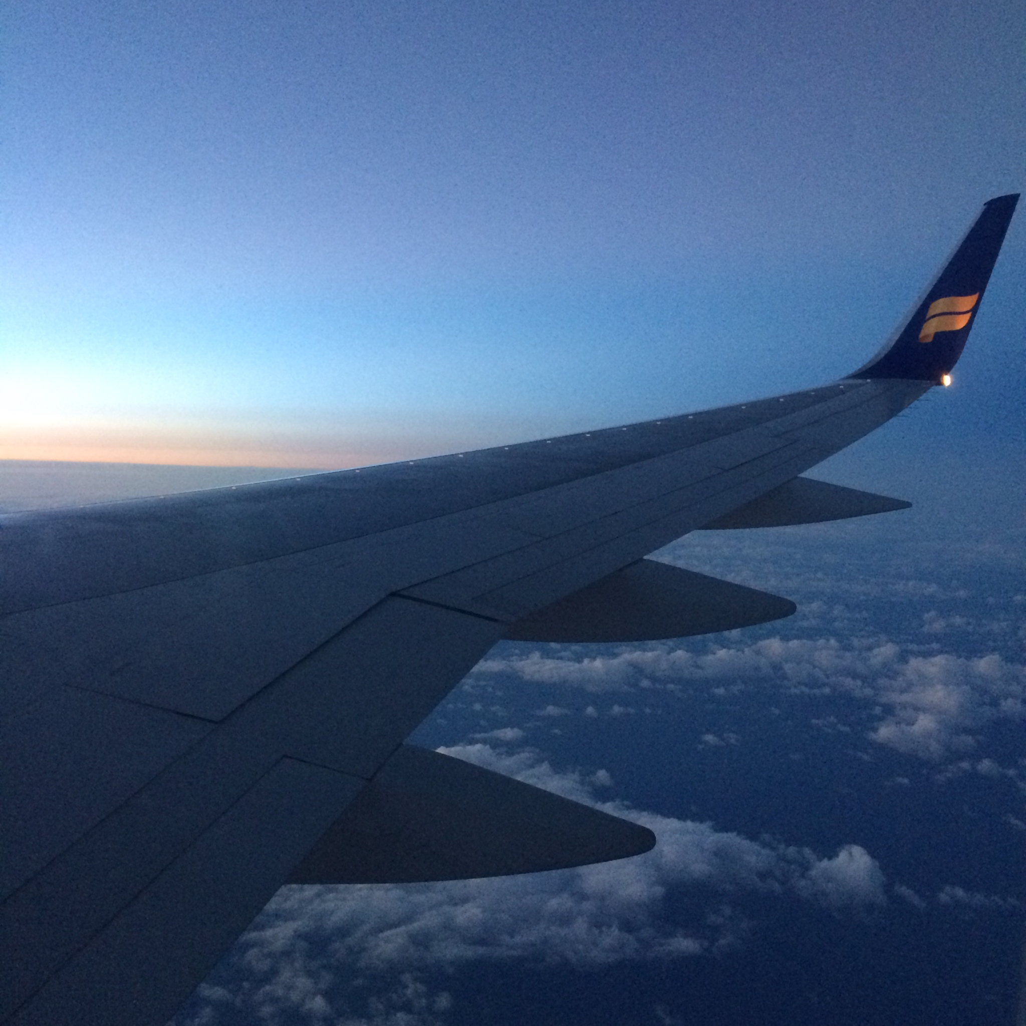 Views From the Flight to Iceland