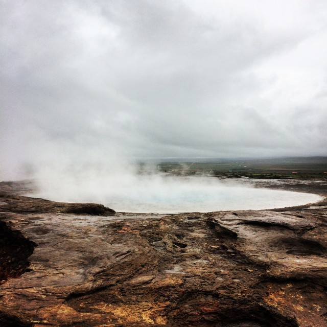 Video: Waiting for the Geyser in Iceland