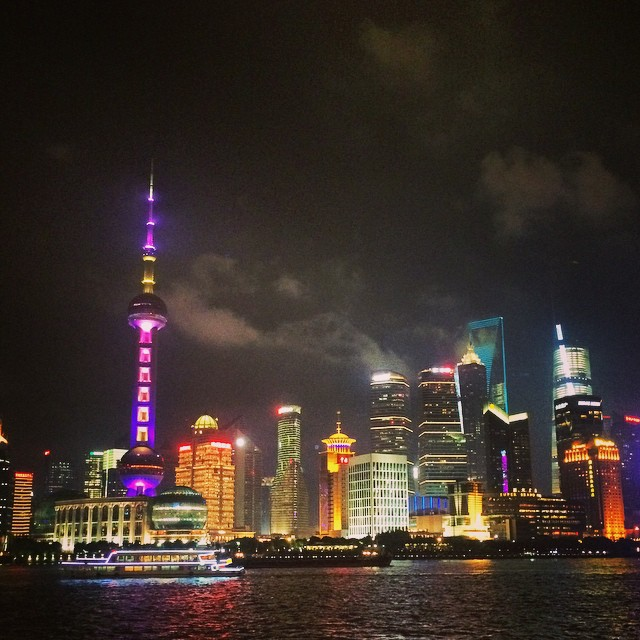 Shanghai Day 1: The Bund