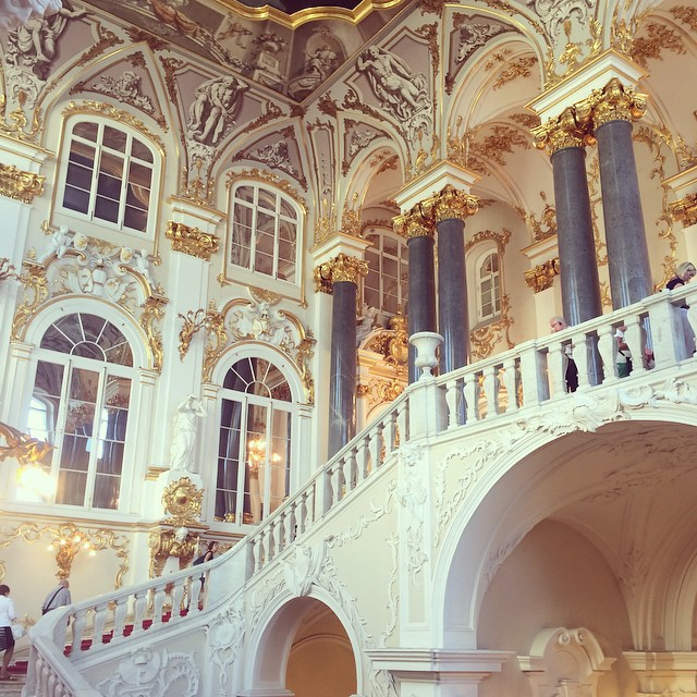 Photo Of The Day Inside The Winter Palace St Petersburg
