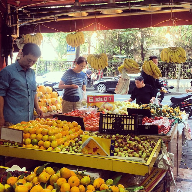 Photo of the Day: Fruit Shop in Shanghai