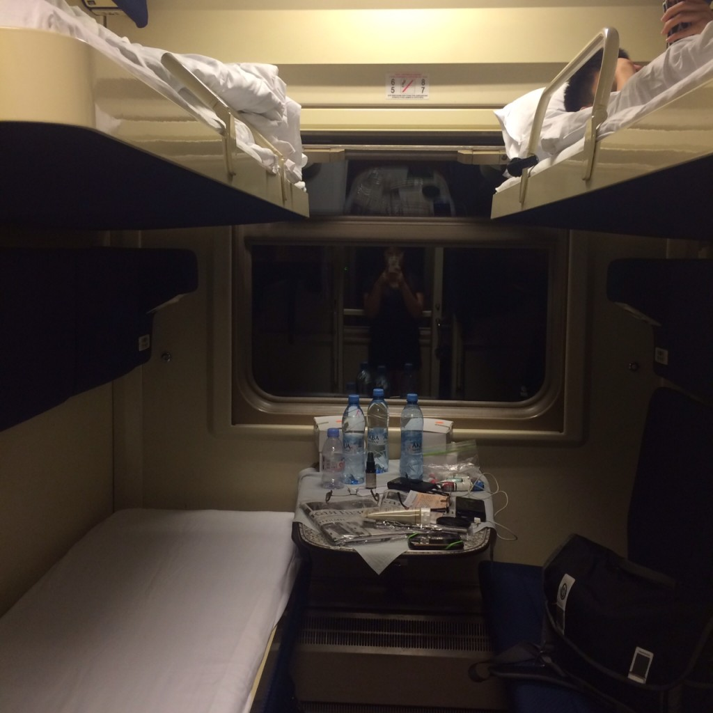 st petersburg to moscow train ride