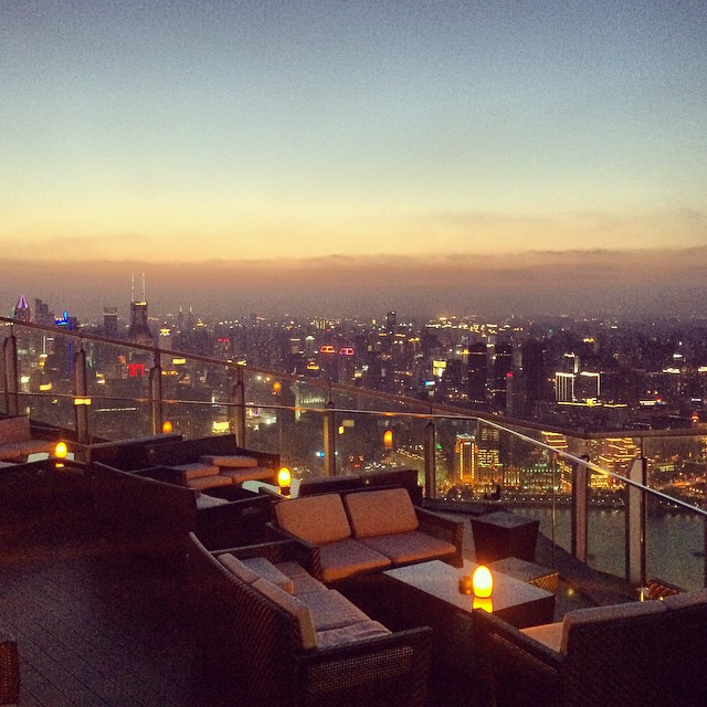 Photo of the Day: The Ritz Carlton Shanghai Pudong Flair Bar