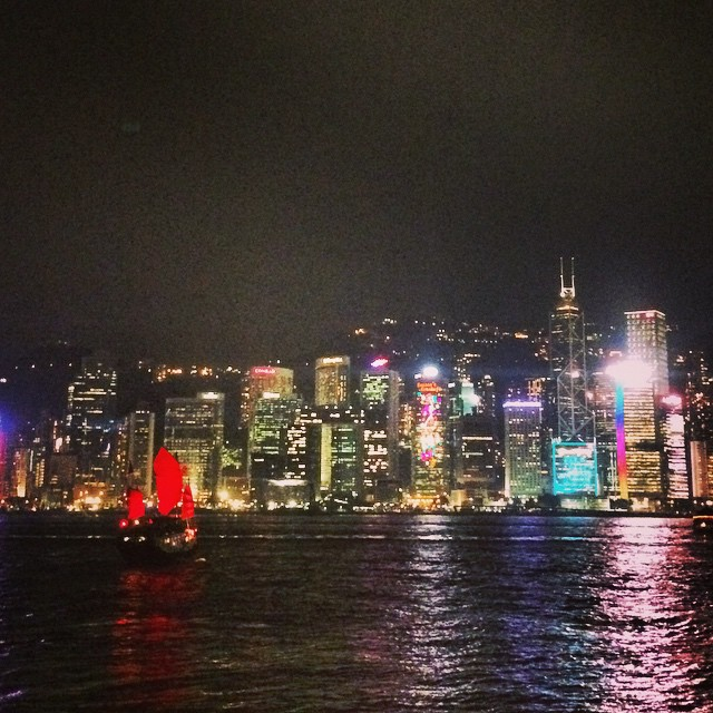 Video: Victoria Harbor Light Show (A Symphony of Lights)