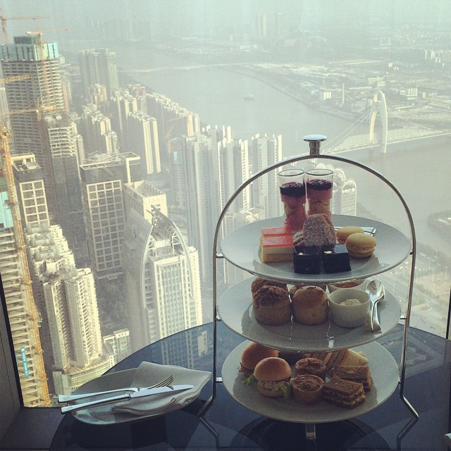 afternoon tea at four seasons guangzhou