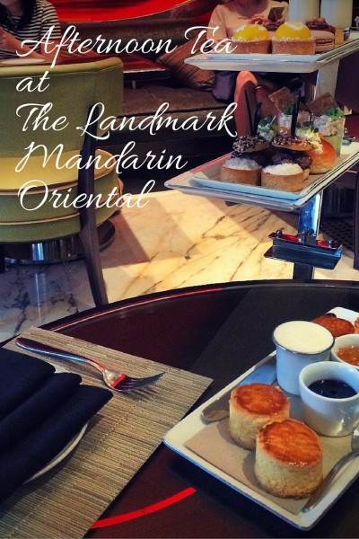 afternoon tea at the landmark mandarin oriental hong kong