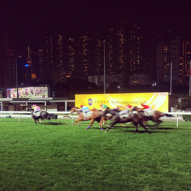 Video: Horse Racing at Hong Kong Jockey Club