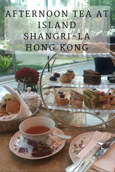 afternoon tea at island shangri-la hong kong