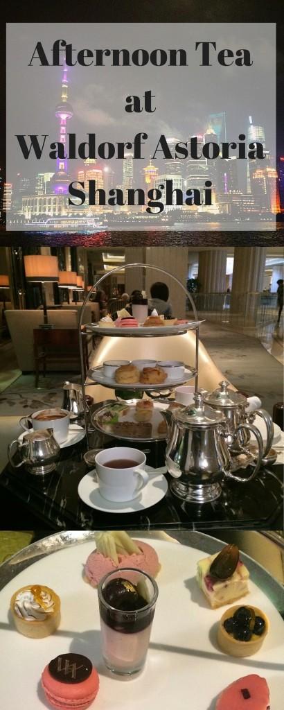 Afternoon tea at waldorf astoria shanghai on the bund
