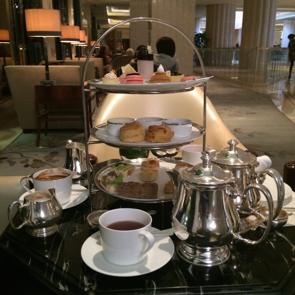 afternoon tea at waldorf astoria shanghai on the bund