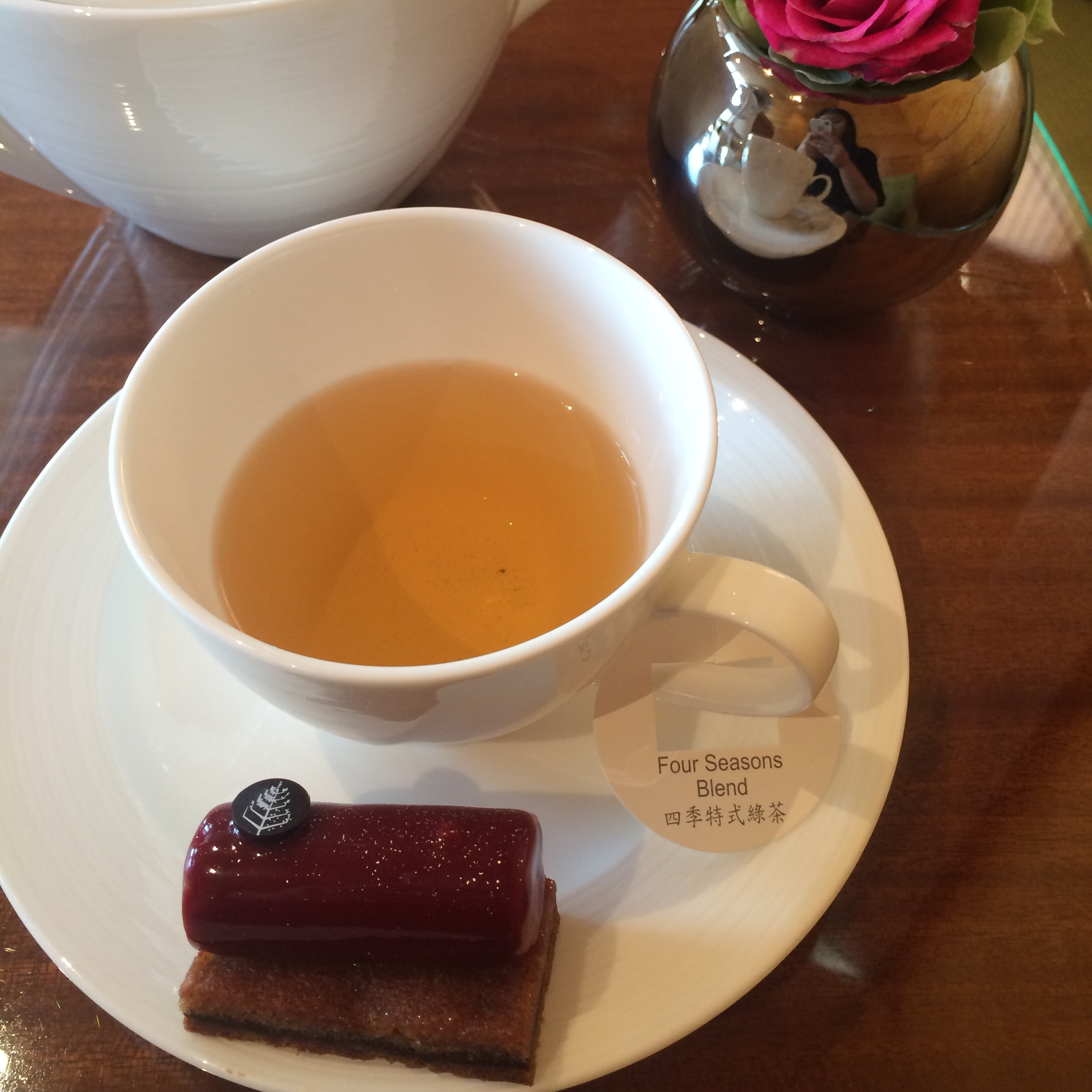Afternoon Tea at Four Seasons Hotel Hong Kong