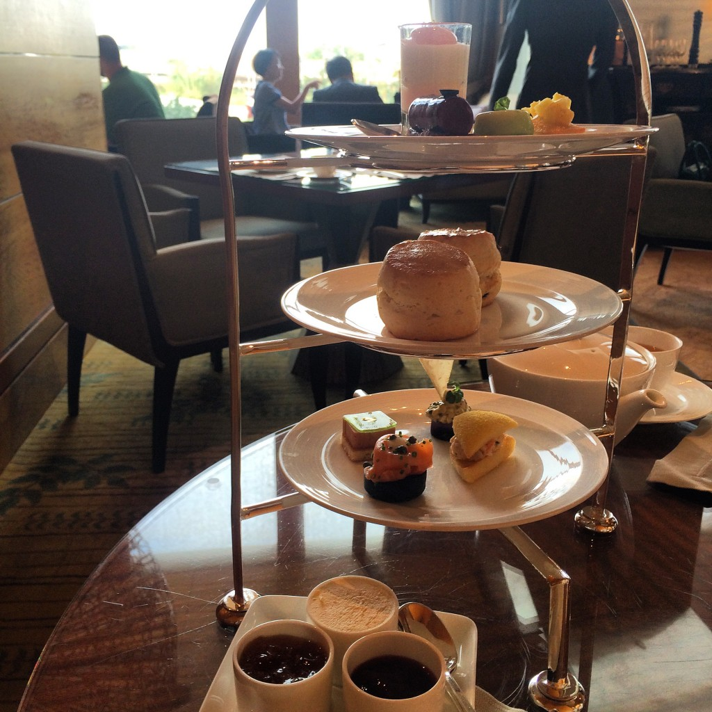 afternoon tea at four seasons hong kong