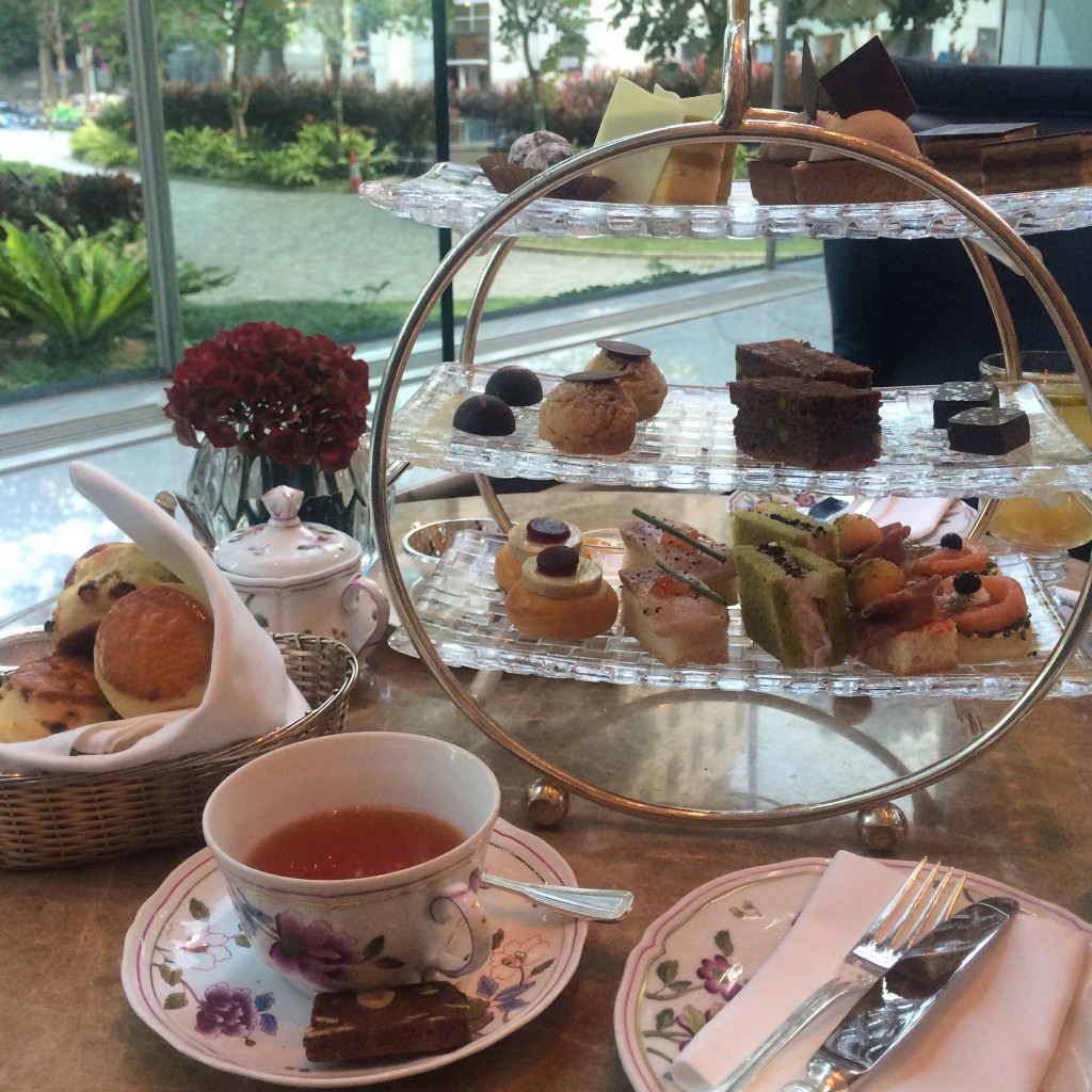 afternoon tea at island shangri la hong kong