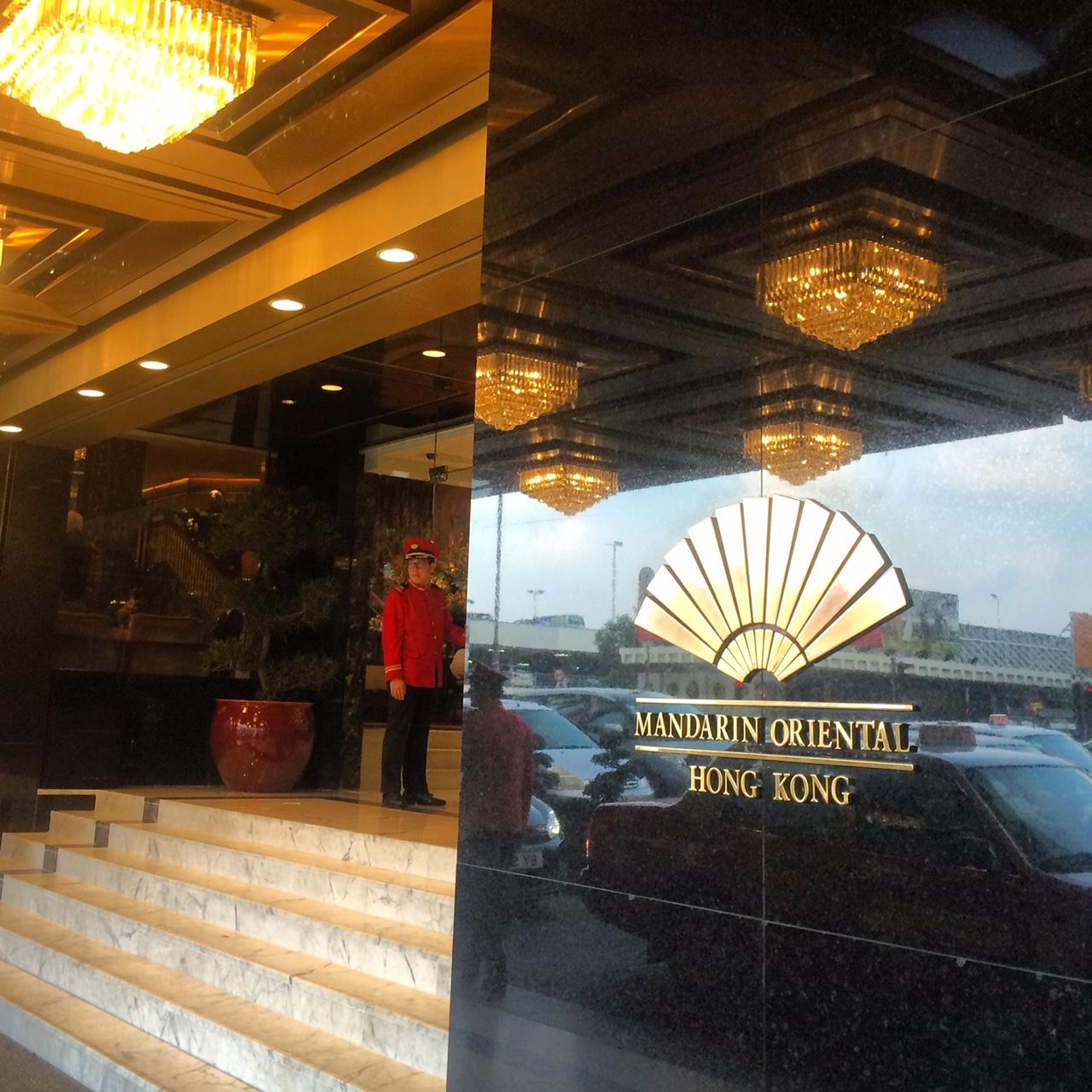 Afternoon Tea at Mandarin Oriental Hong Kong