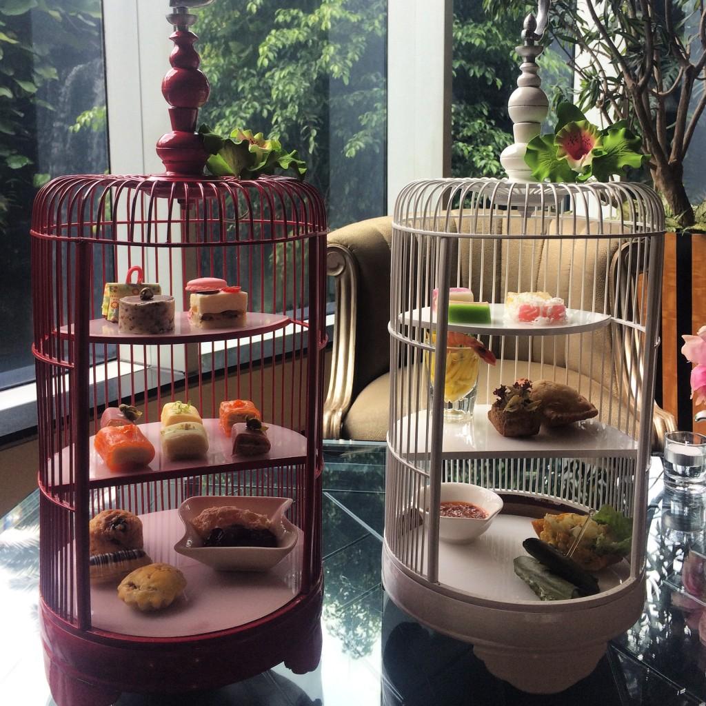 afternoon tea at hotel mulia