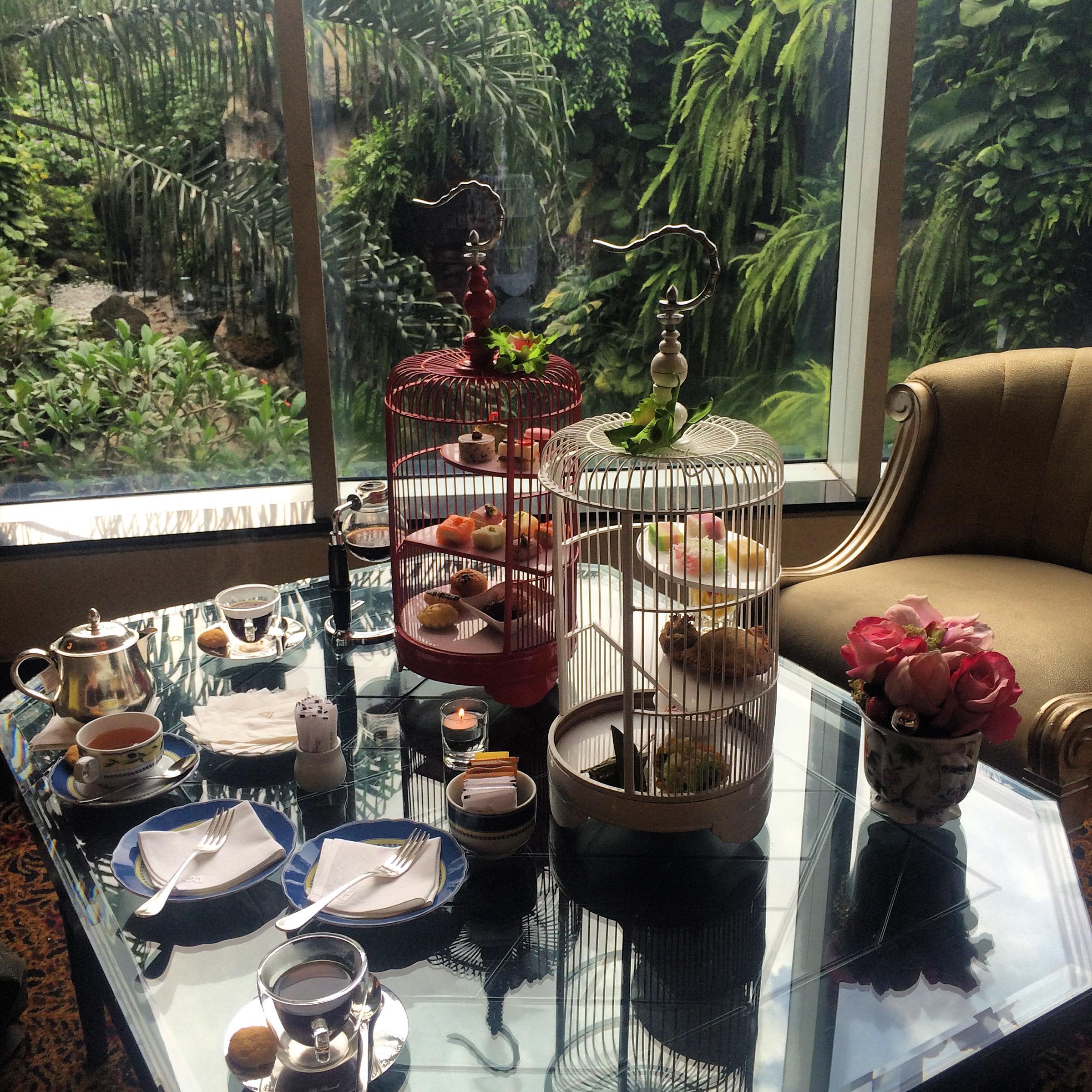 Afternoon Tea at Hotel Mulia Senayan Jakarta