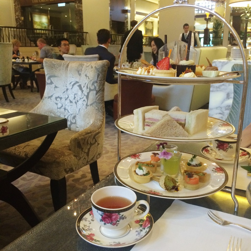 afternoon tea at the langham auckland