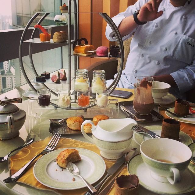 afternoon tea at jw marriott shanghai
