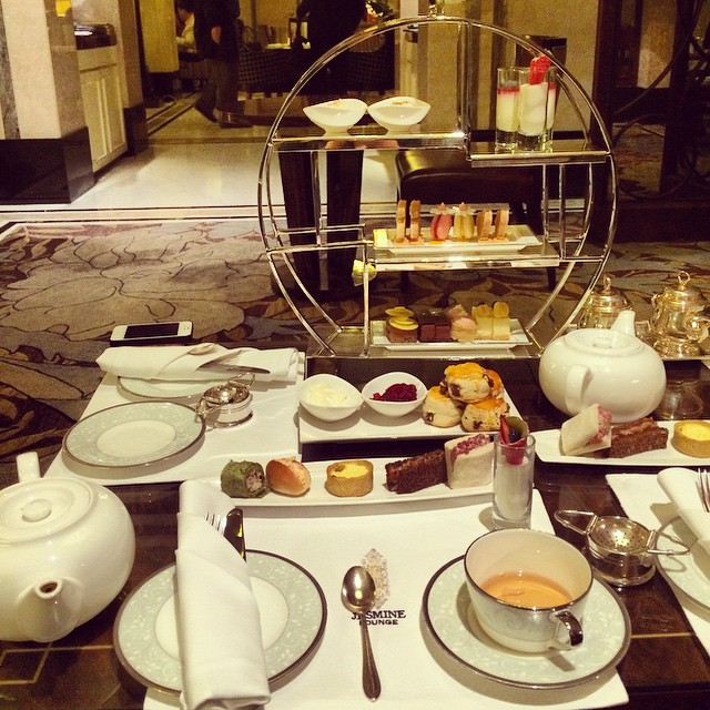 afternoon tea at fairmont peace hotel