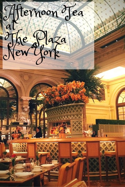 afternoon tea at the plaza new york