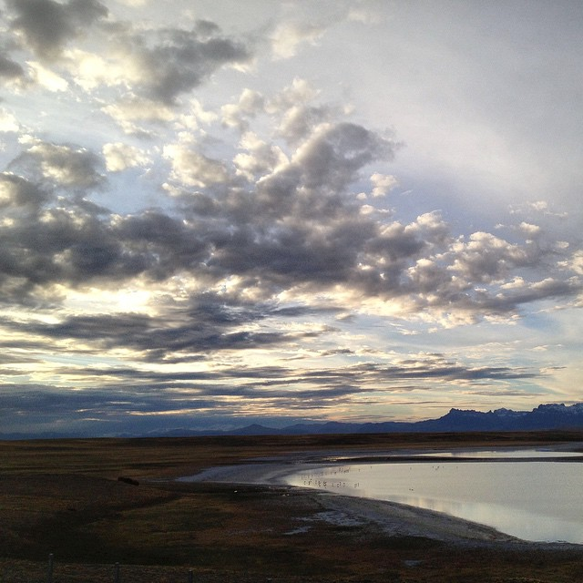 #ThrowbackThursday: Patagonian Sunset