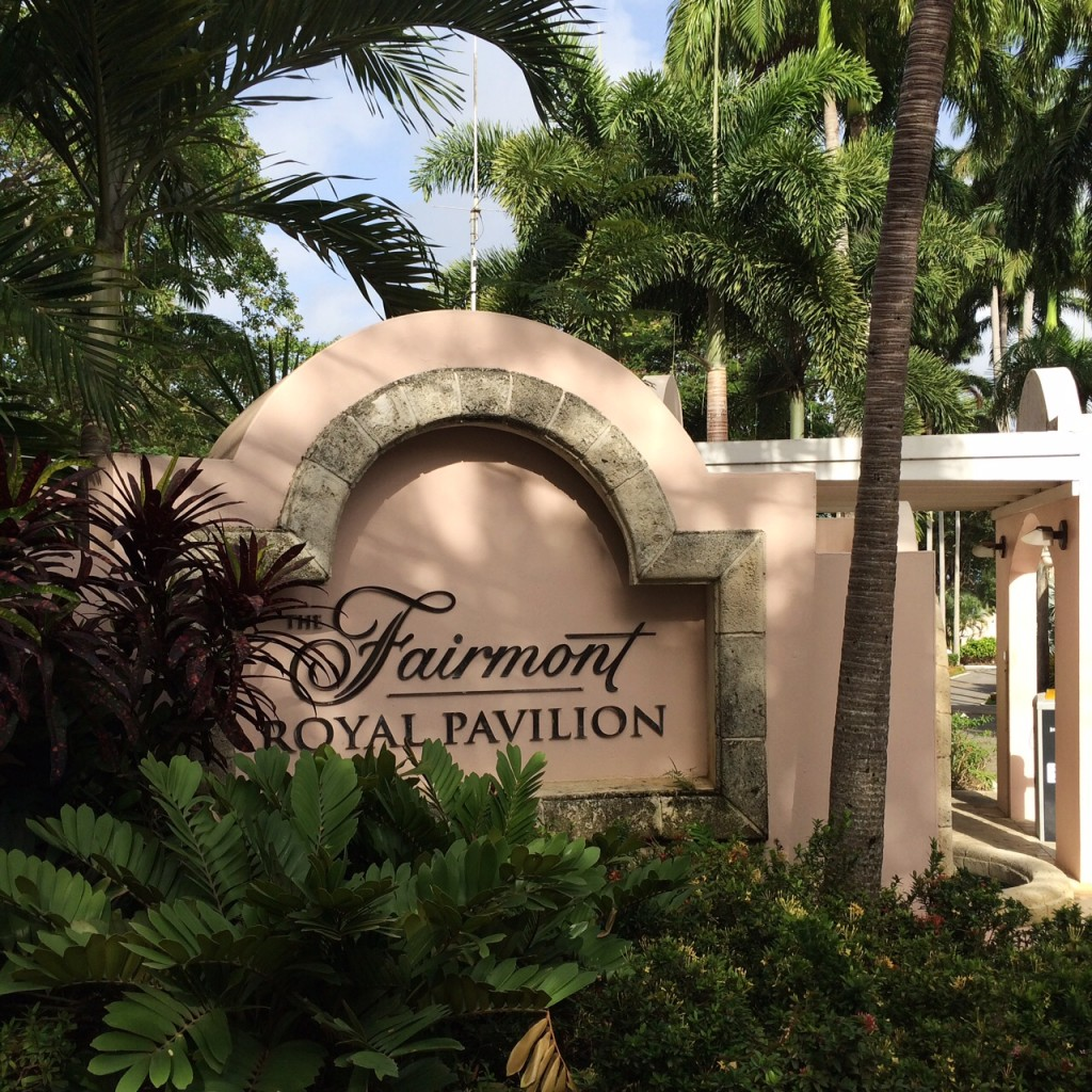 fairmont royal pavilion barbados