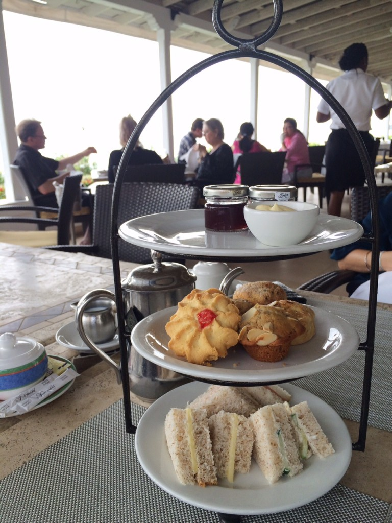 afternoon tea fairmont royal pavilion barbados