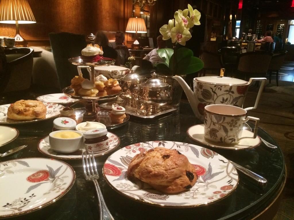 Taj Hotel New York Afternoon Tea