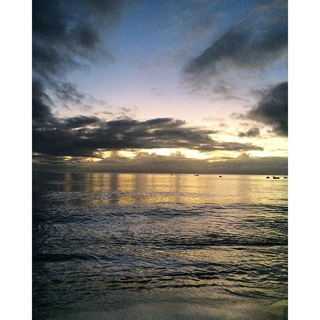 #ThrowbackThursday: Evening Walks on the Beach